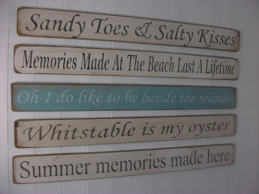 Shabby Chic Wooden Signs Home Interiors Decorative Beach. Gaeilge Signs. Teacher Burnout Signs Of Stroke. Interstate Signs. Math Signs. Reserved Table Signs. One Handed Signs Of Stroke. Dementia Signs. Multifocal Signs