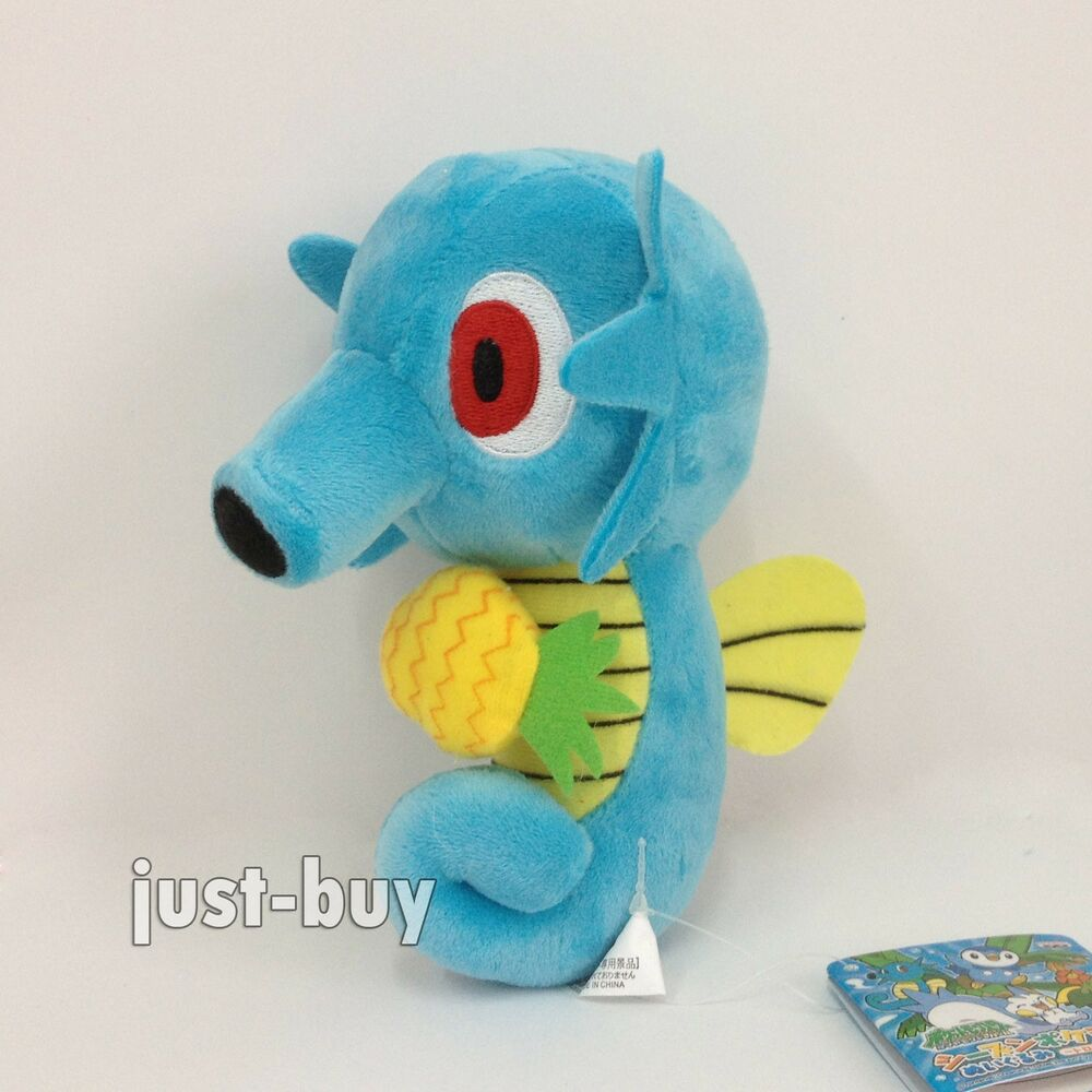 Pokemon Horsea #116 Plush Soft Toy Character Stuffed ...