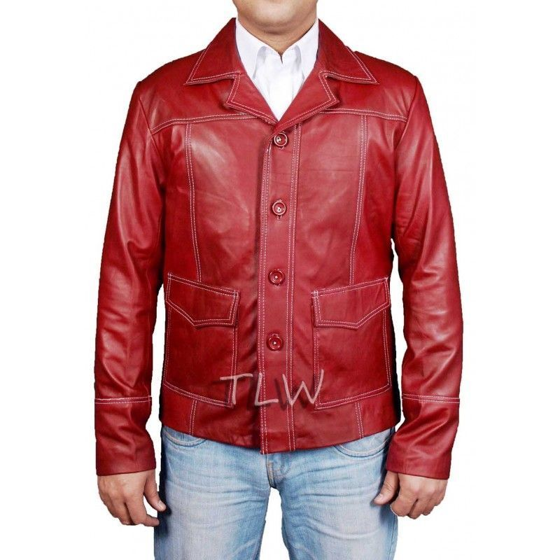 Leather jacket fight club