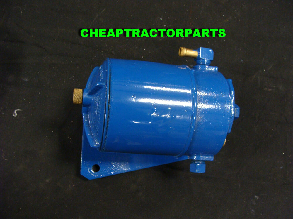 Diesel Tractor Fuel Filter Assembly : Ford tractor diesel