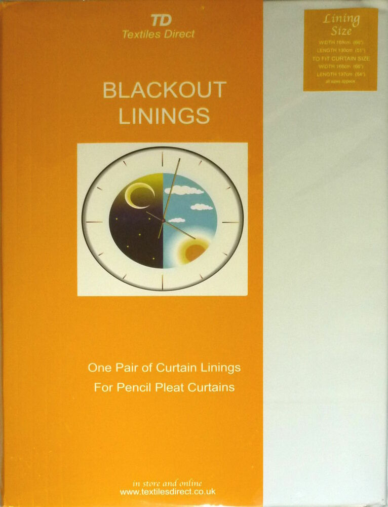 new ready made white blackout linings blackout thermal. Black Bedroom Furniture Sets. Home Design Ideas