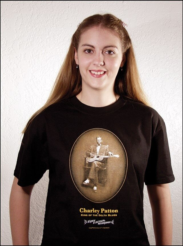 John Tefteller 39 S Blues Images Charley Patton T Shirt King