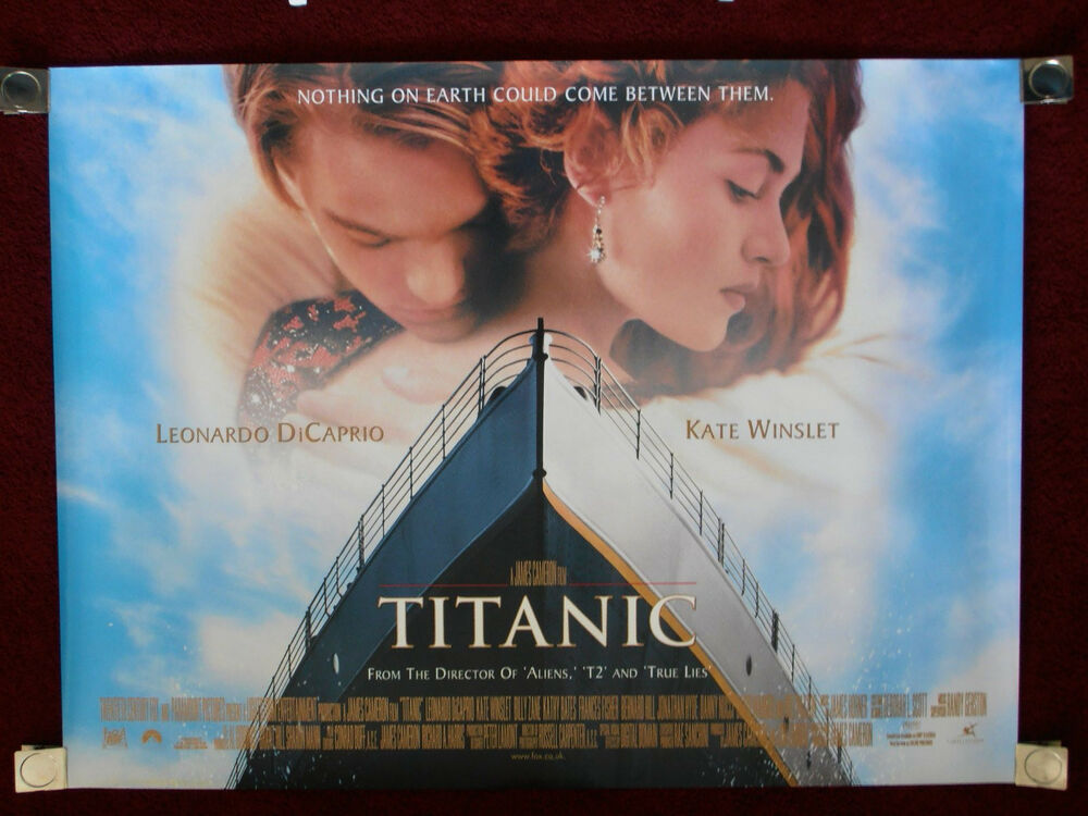 Movie Posters 1997: Titanic 1997 Double-Sided 30x40 UK Original Movie Poster
