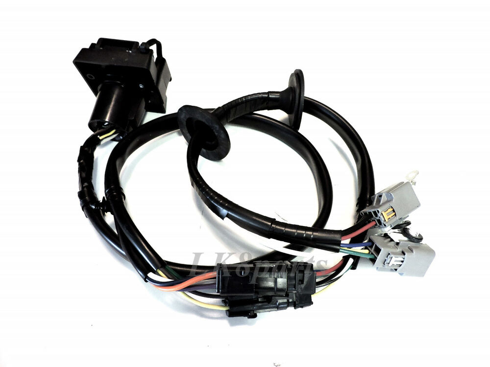 Land rover lr tow hitch trailer wiring harness electric
