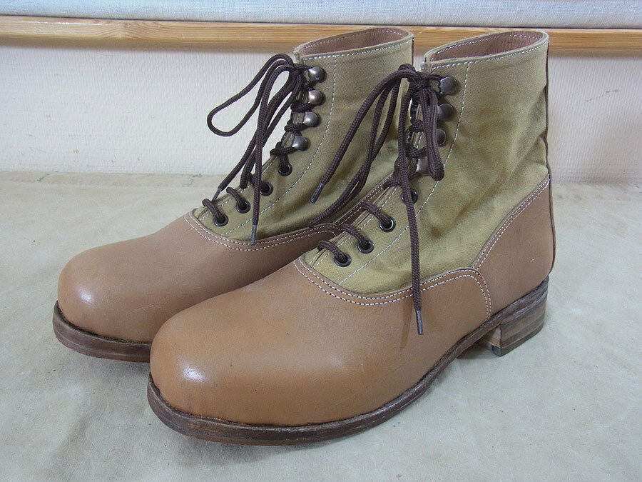 dak afrikakorps stiefel luftwaffe low boots tropical tropenstiefel ebay. Black Bedroom Furniture Sets. Home Design Ideas