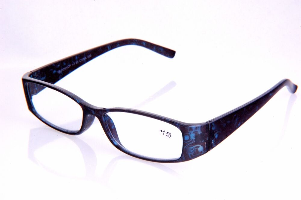 Lightweight Plastic Frame Glasses : Fashion Reader Clear Lens reading Glasses Rectangular ...