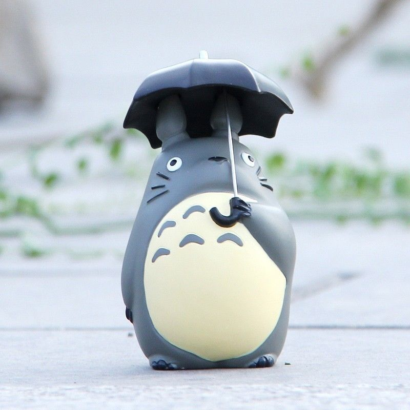 Cute STUDIO GHIBLI My Neighbor Totoro with Umbrella Resin ...