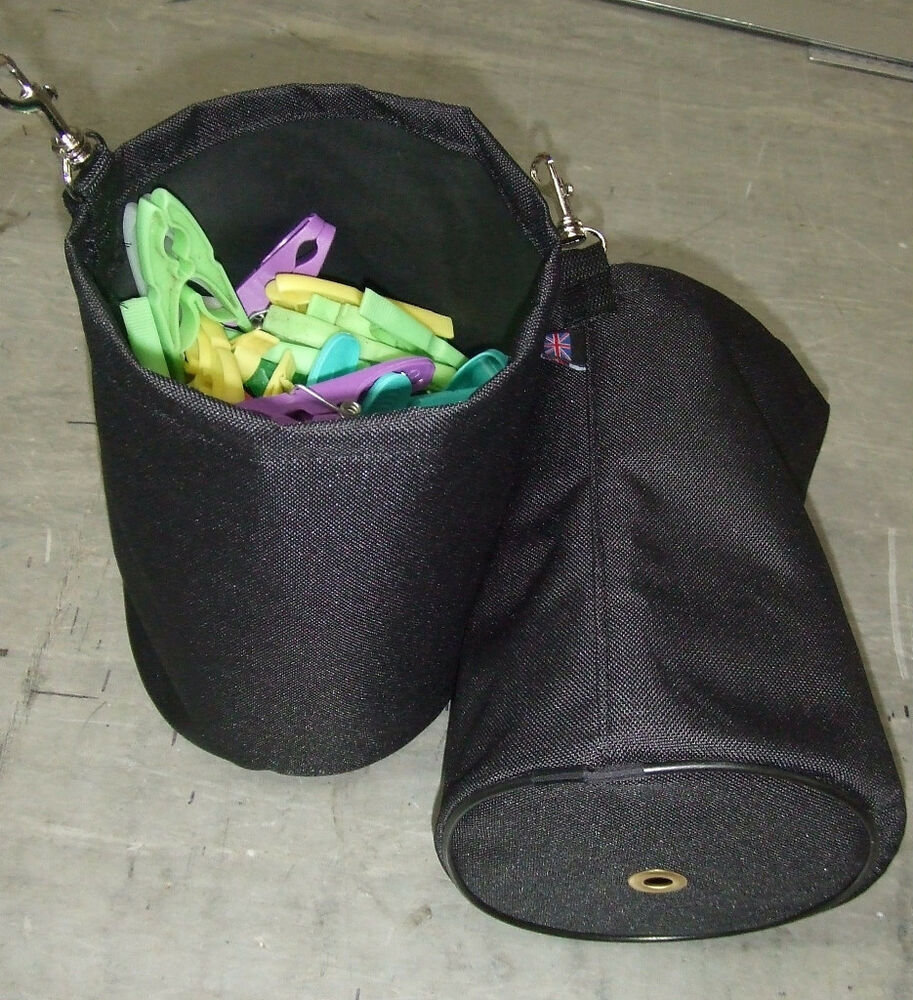 Washing The Washer In Backpack ~ Clothes peg bag for use with laundry washing line rotary