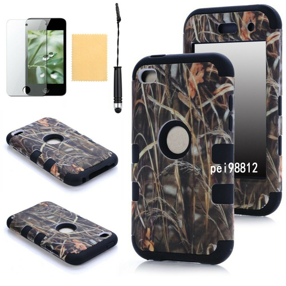 Triple Layer Hybrid RealTree Camo Hard Case Cover For IPOD ...