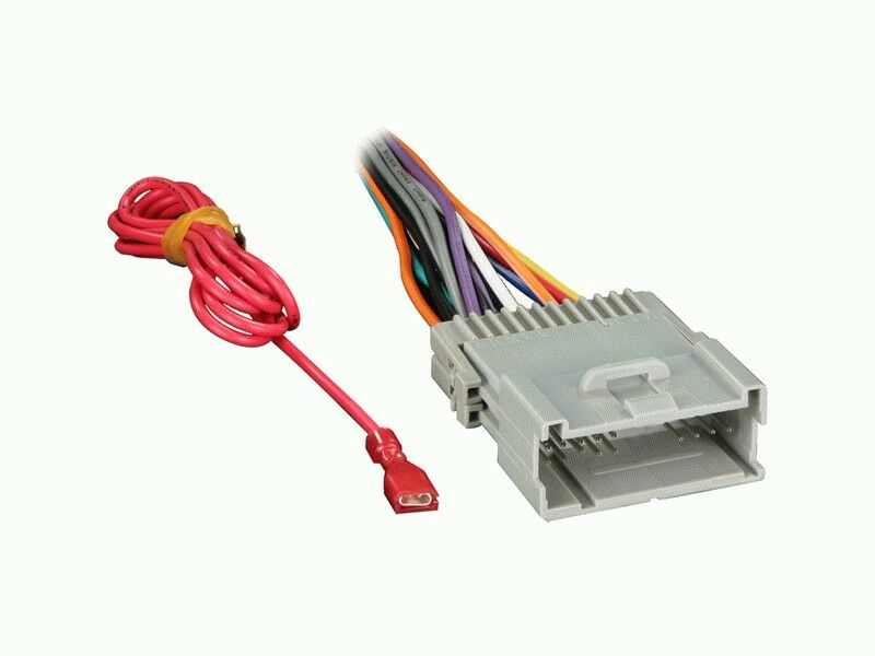 Car Factory Wiring Harness To Aftermarket Radio Rapgm4004 702003