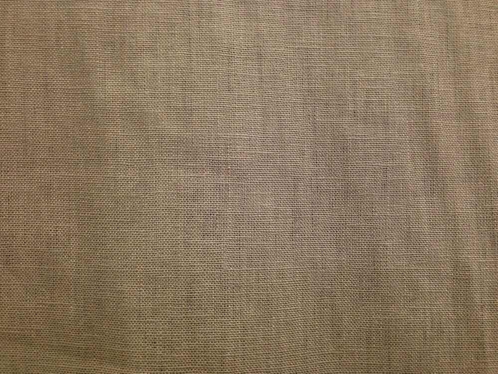 Washed 100 linen taupe natural dressmaking craft curtain fabric soft plain ebay - Taupe kamer linnen ...