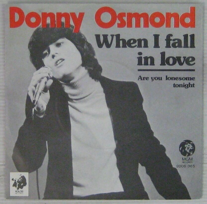 Donny Osmond When I Fall In Love