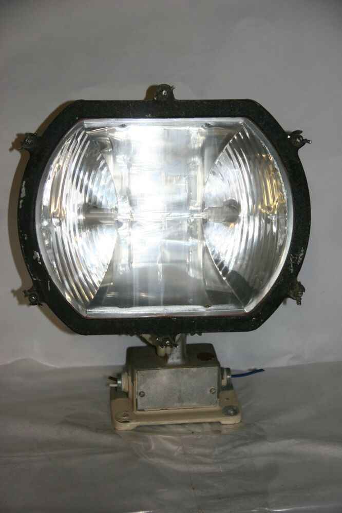 wide lite explosion proof halogen light fixture 500w ebay. Black Bedroom Furniture Sets. Home Design Ideas