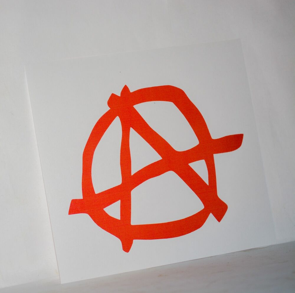 Anarchy Symbol Vinyl Car Decal Bumper Window Mirror