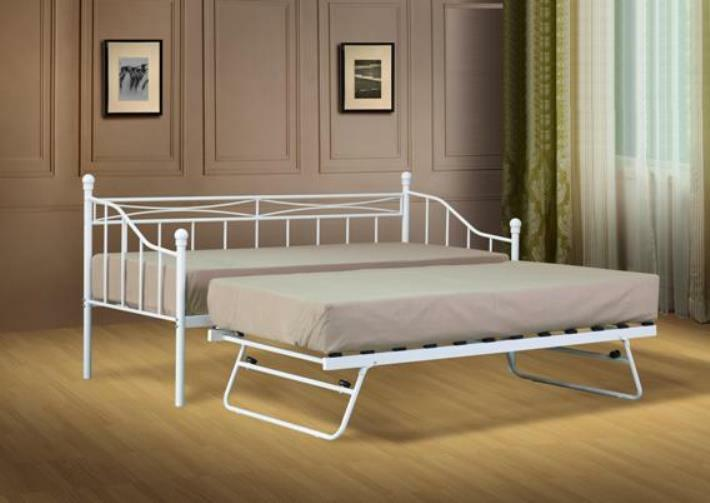 2ft6 Small Single Day Bed With Trundle And Mattress Option