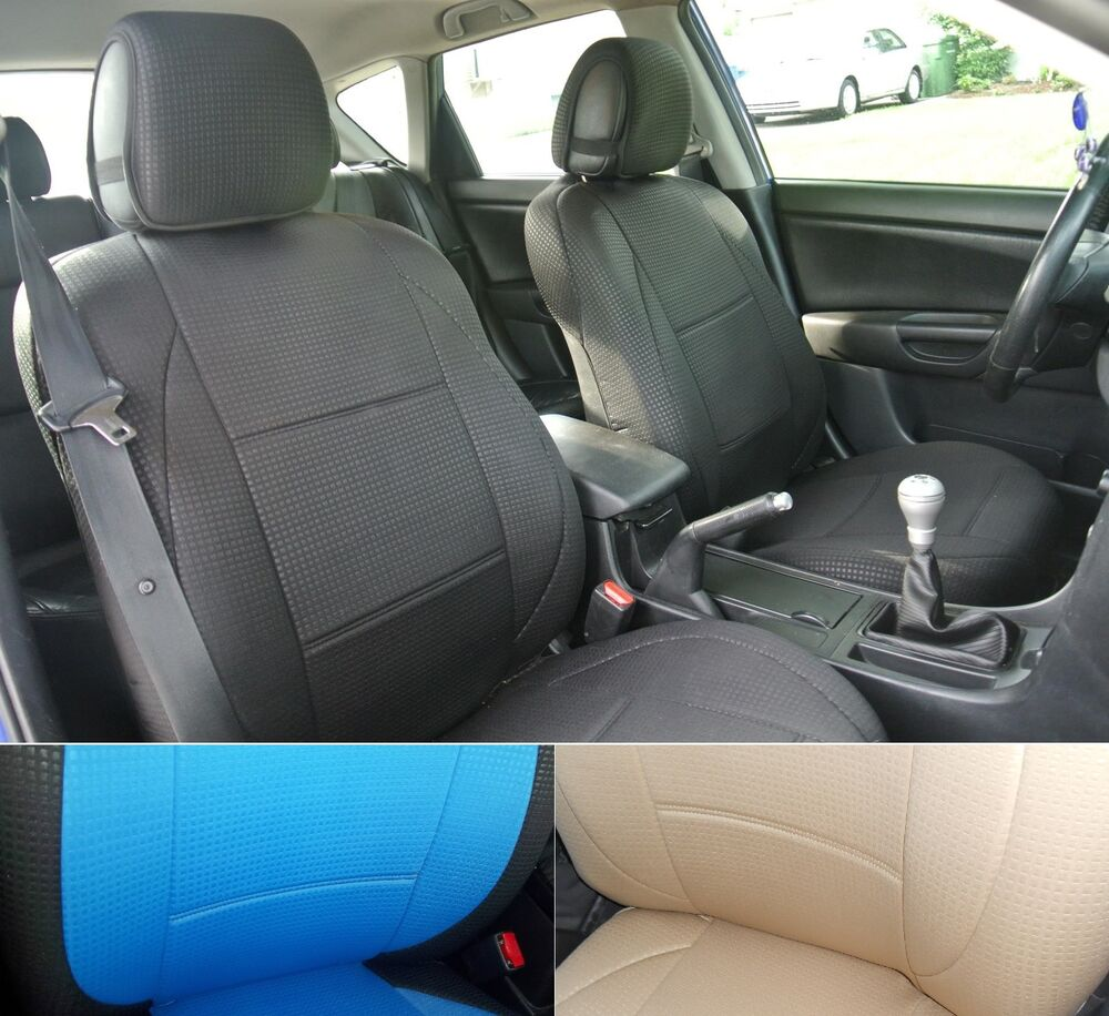 Diamond series two front custom car seat covers fits for Mercedes benz e350 car cover