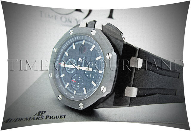 Audemars piguet royal oak offshore forged carbon ceramic new model ebay for Royal oak offshore ceramic