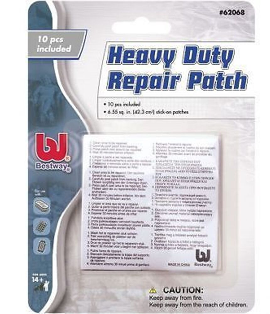 10 Heavy Duty Vinyl Pvc Puncture Repair Patch Inflatable