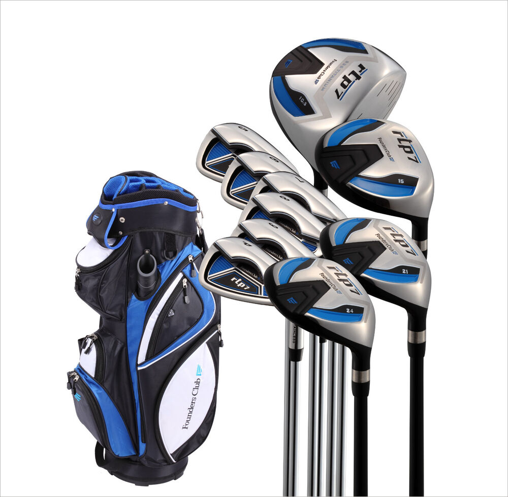 Founders Club RPT7 Mens Golf Set, Regular Graphite/Steel Shafts, Right-handed | eBay