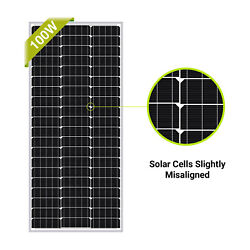 Kyпить Newpowa 100W Watt 12V Mono Solar Panel New Condition A-Grade For Marine RV на еВаy.соm