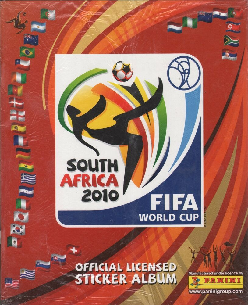 FIFA World Cup Soccer 2010 South Africa PANINI Album ...