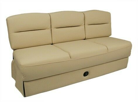 Frontier Sofa Bed RV Furniture Motorhome w Slide Out Drawer
