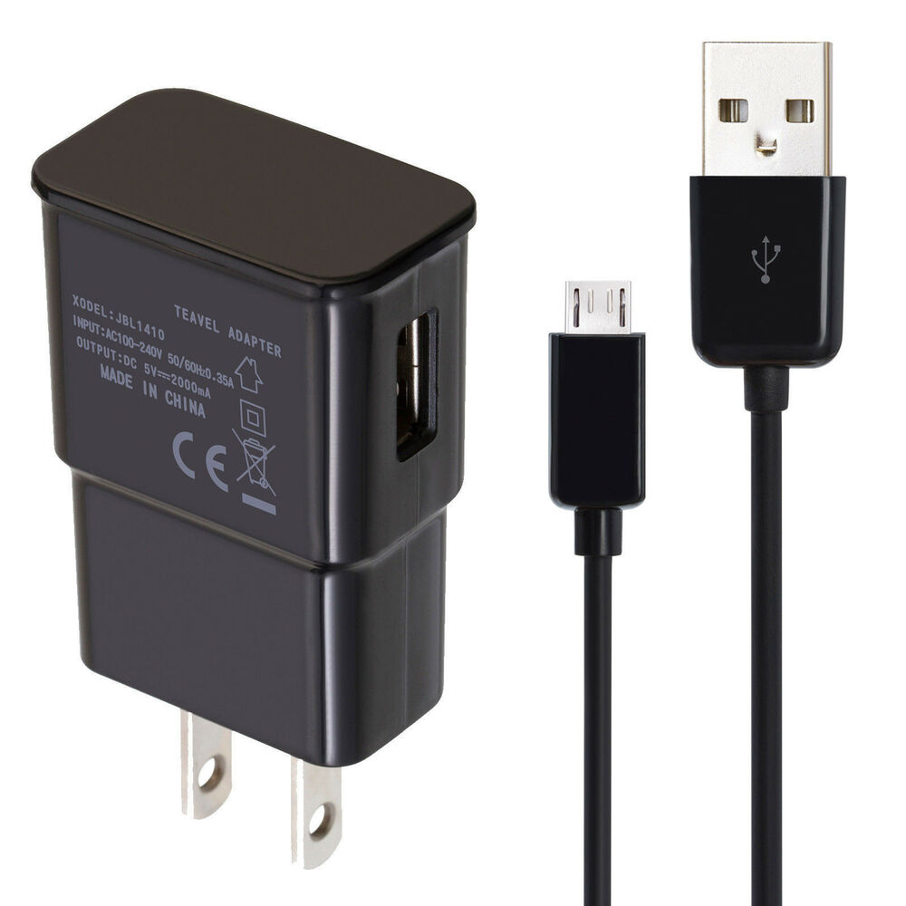 Wall Ac Charger Usb Cable For Amazon Kindle 2 3 4 Dx