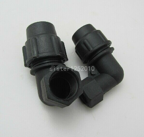 Pe elbow ° mm quot hdpe pipe fittings adapter quick