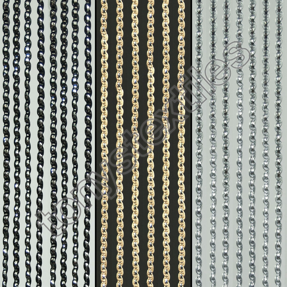 Sparkle string window door curtain net panel fly screen for Door net curtains