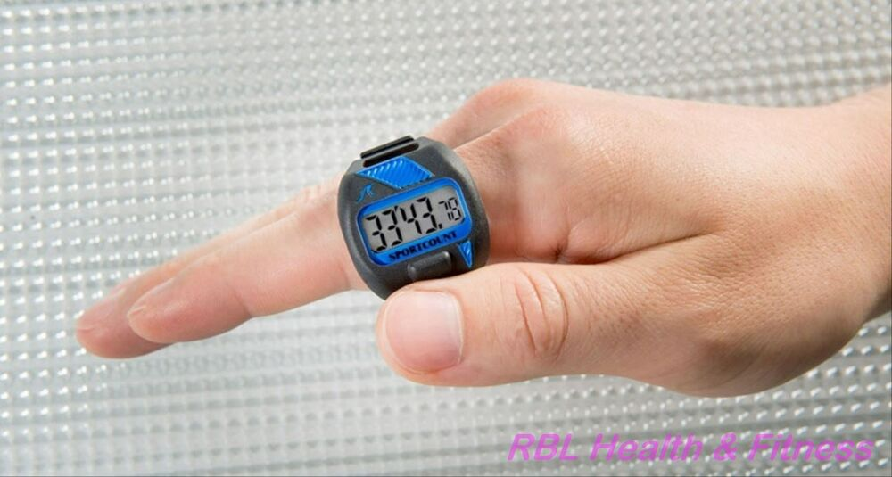 Sportcount Lct Model Waterproof Ring Lapcounter Stopwatch