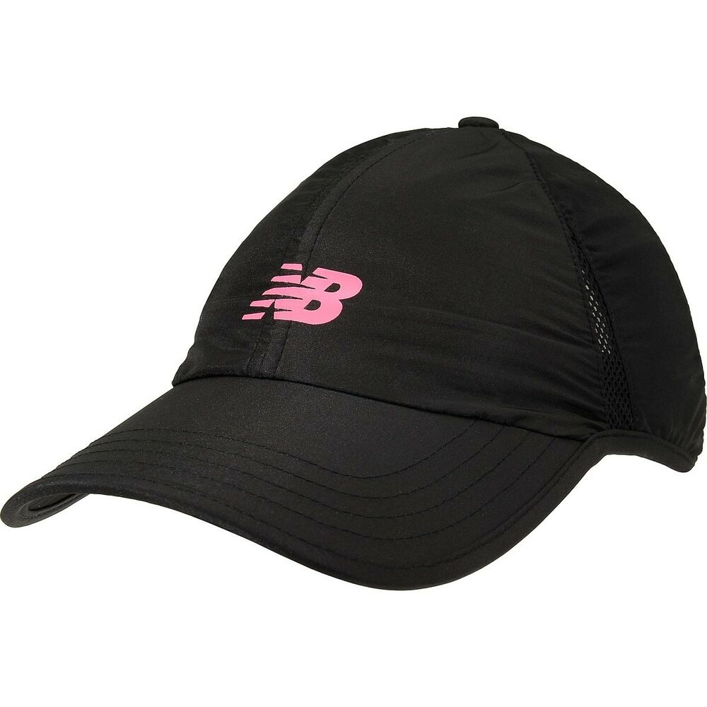 new balance endurance adjustable running hat cap black. Black Bedroom Furniture Sets. Home Design Ideas