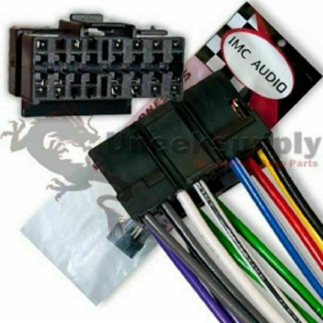 pioneer wire harness for deh p31 deh p3100 deh p41 deh p310 deh p410 deh p4100 ebay