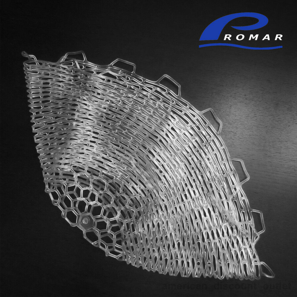New promar rubber landing net replacement medium 20 24 for Rubber fishing nets