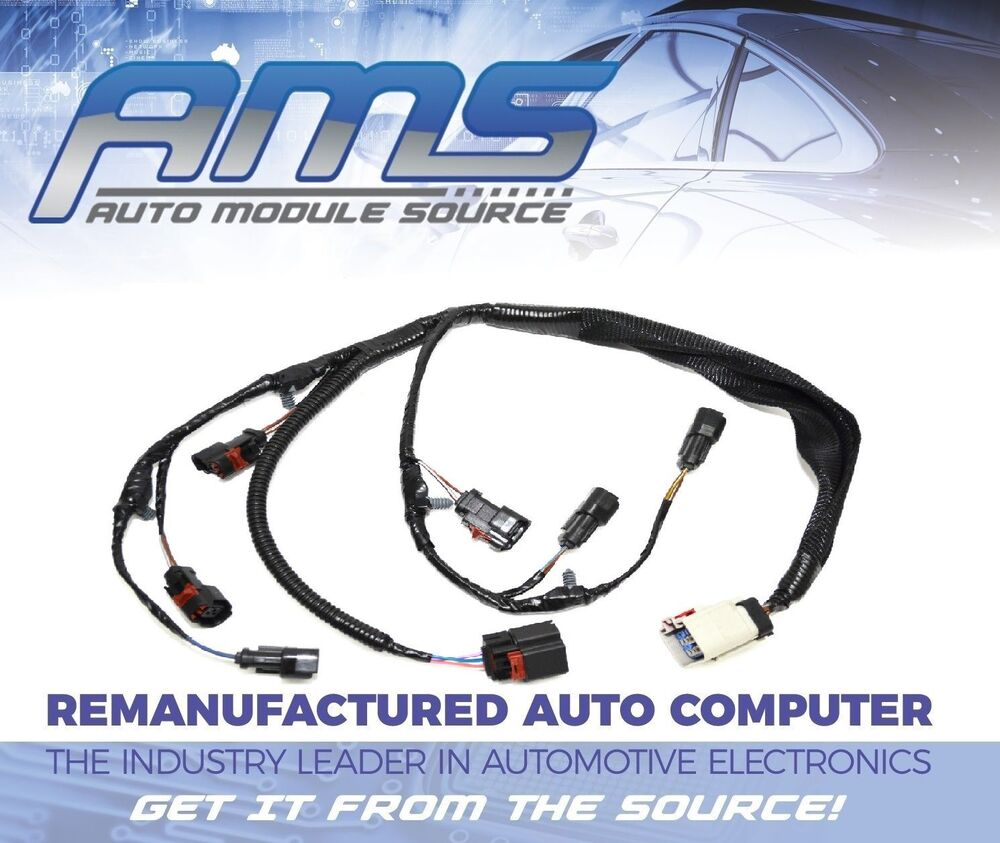 s l1000 2001 2002 2003 new engine injector harness dodge chrysler caravan 2001 chrysler town and country engine wiring harness at creativeand.co
