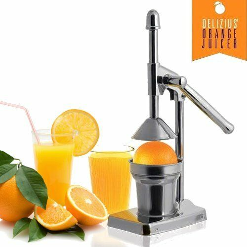 presse agrumes levier juicer orange citron fruits manuel acier inox ebay. Black Bedroom Furniture Sets. Home Design Ideas