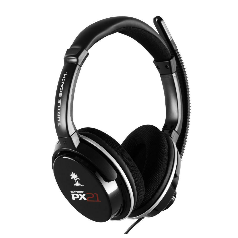 turtle beach ear force px21 gaming headset for ps3 ps4. Black Bedroom Furniture Sets. Home Design Ideas