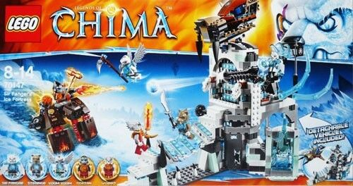 Lego Legends Of Chima 70147 Sir Fangar S Ice Fortress New