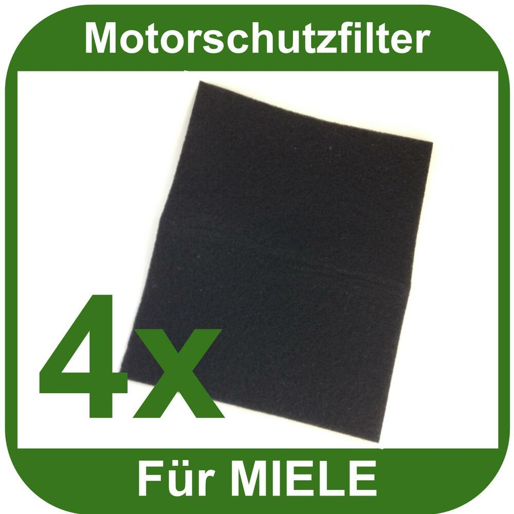 4x motorschutzfilter f r miele staubsauger universell einsetzbar motorfilter neu ebay. Black Bedroom Furniture Sets. Home Design Ideas