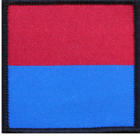 img-ROYAL ARTILLERY RA CLOTH TRF PATCH FLASH- FIRE OVER WATER BRITISH ARMY ISSUE