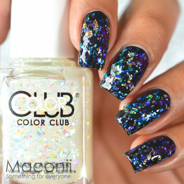 Who Sells Color Club Nail Polish: Flake Crystal Opal Holo