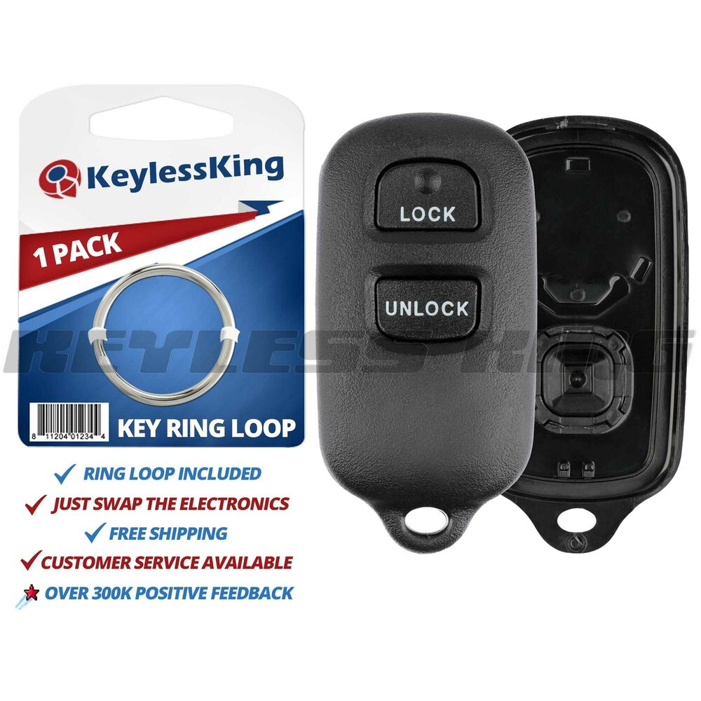 new replacement keyless entry remote fob shell pad case housing fix repair. Black Bedroom Furniture Sets. Home Design Ideas