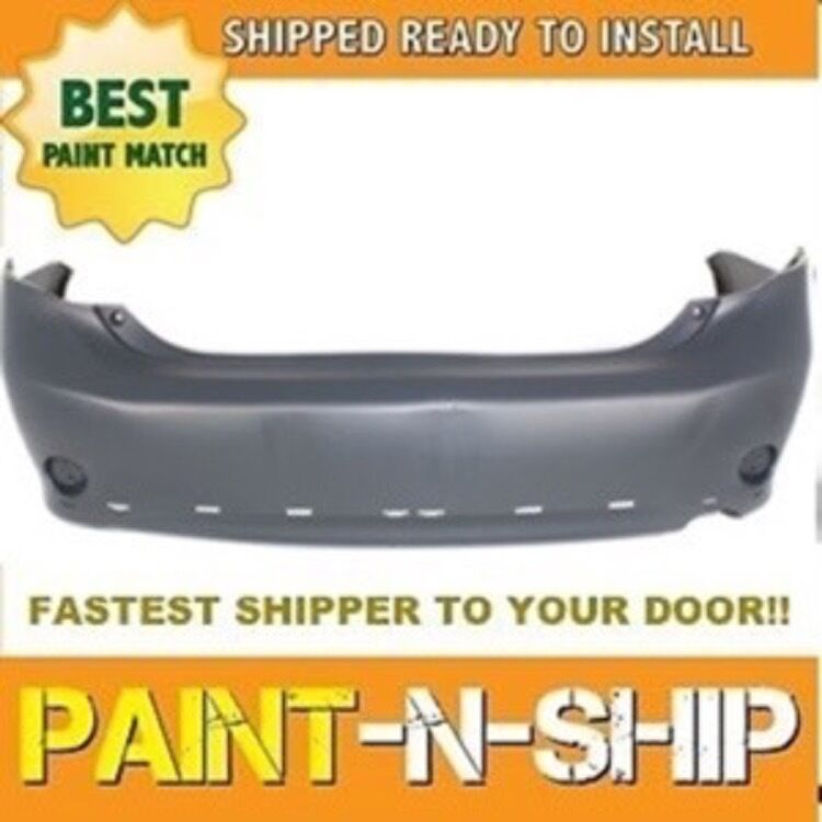 2010 Toyota Corolla S >> Fits; 2009 2010 Toyota Corolla S Rear Bumper Painted to Match (TO1100265) | eBay
