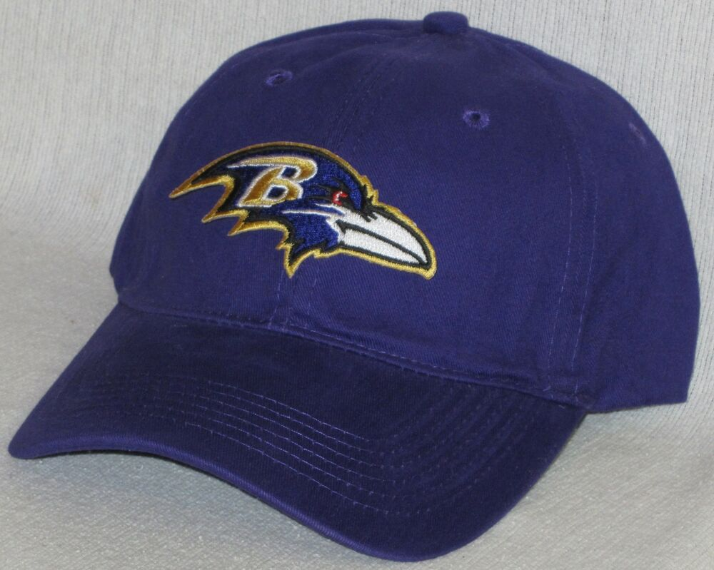 baltimore ravens polo style cap hat classic nfl patch