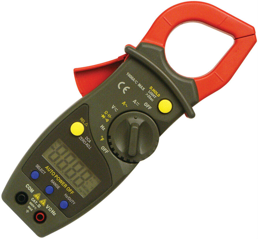 Auto Meter Clamp : Autoranging ac dc digital clamp meter model st ebay