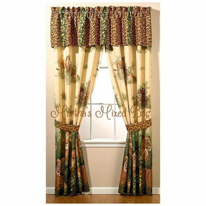 Incredible Elegant animal print window treatments Liveable Primary