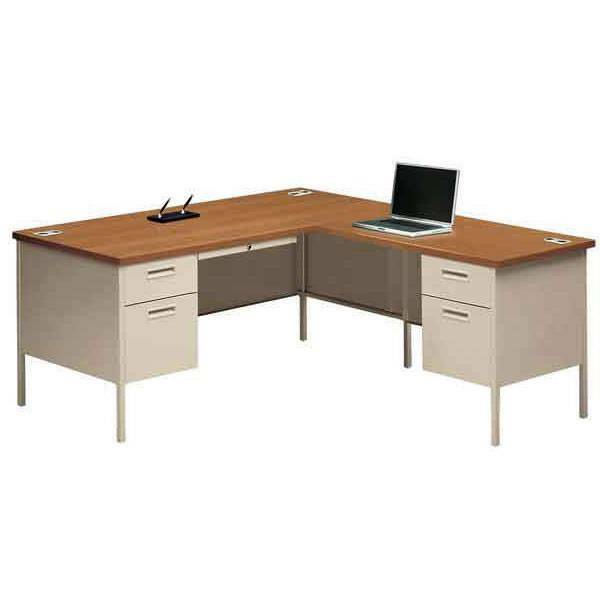 66 Quot L Shaped Desk Workstation With Return On Right Ebay