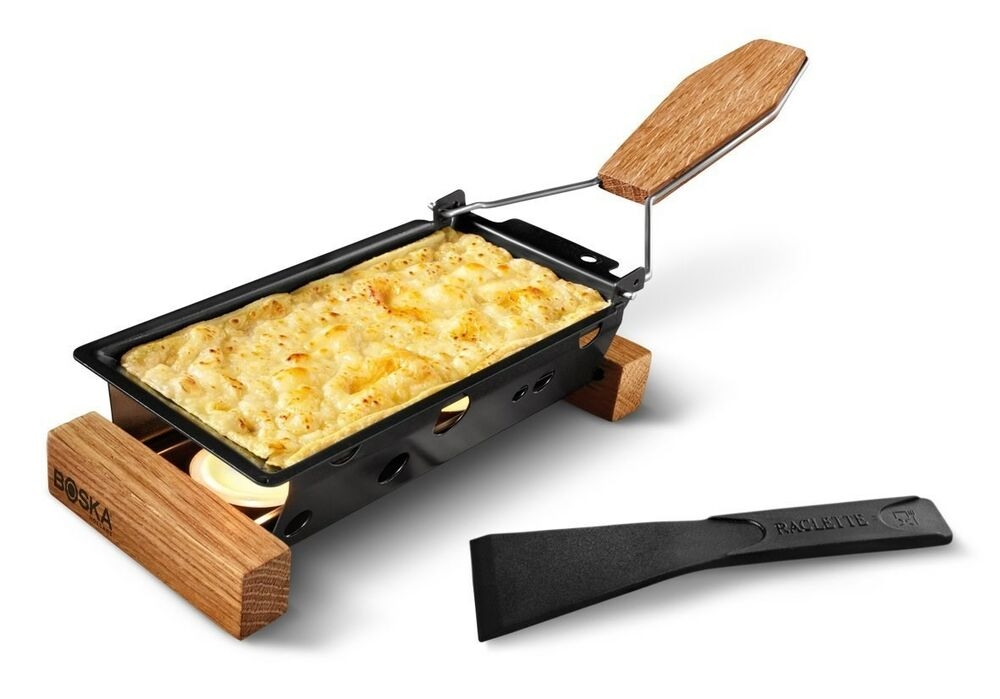 boska holland life collection partyclette to go cheese raclette grill ebay. Black Bedroom Furniture Sets. Home Design Ideas