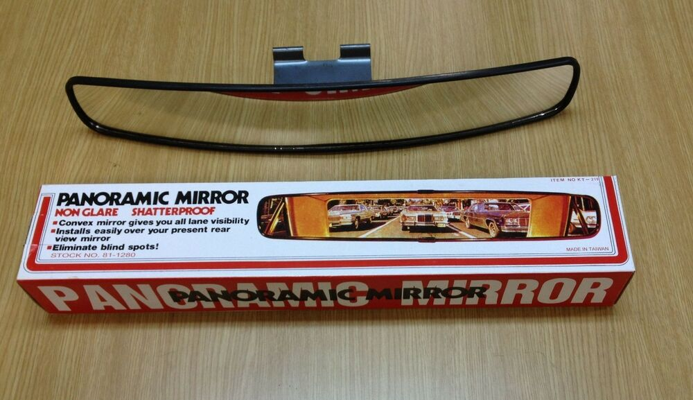 Universal 17 Quot 440mm Panoramic Rear View Mirror True 180