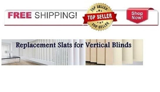 New Bali Vinyl Vertical Blind Replacement Vanes Slats