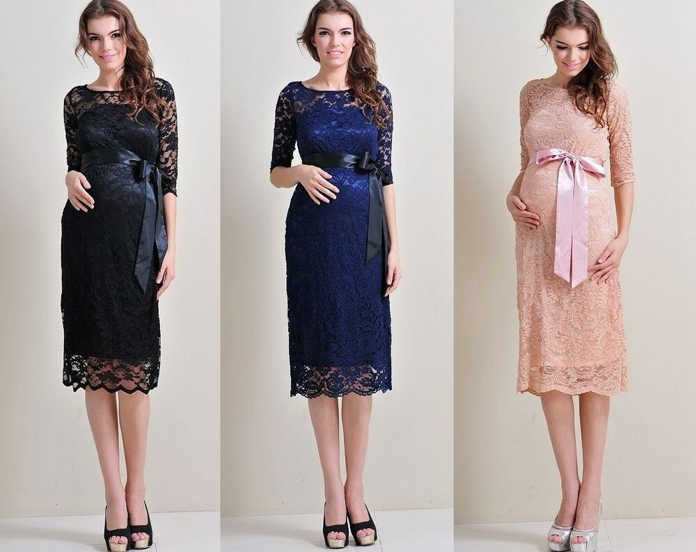 Maternity Wedding Gown: Maternity Evening Dress,Maternity Gown,Party,Baby Shower